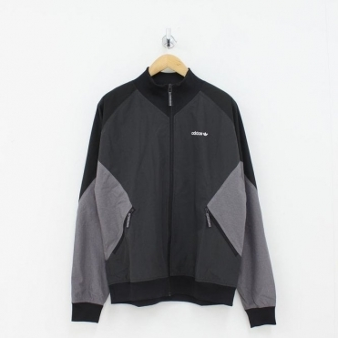 1b86adb4668 Adidas Originals EQT Woven Jacket Black