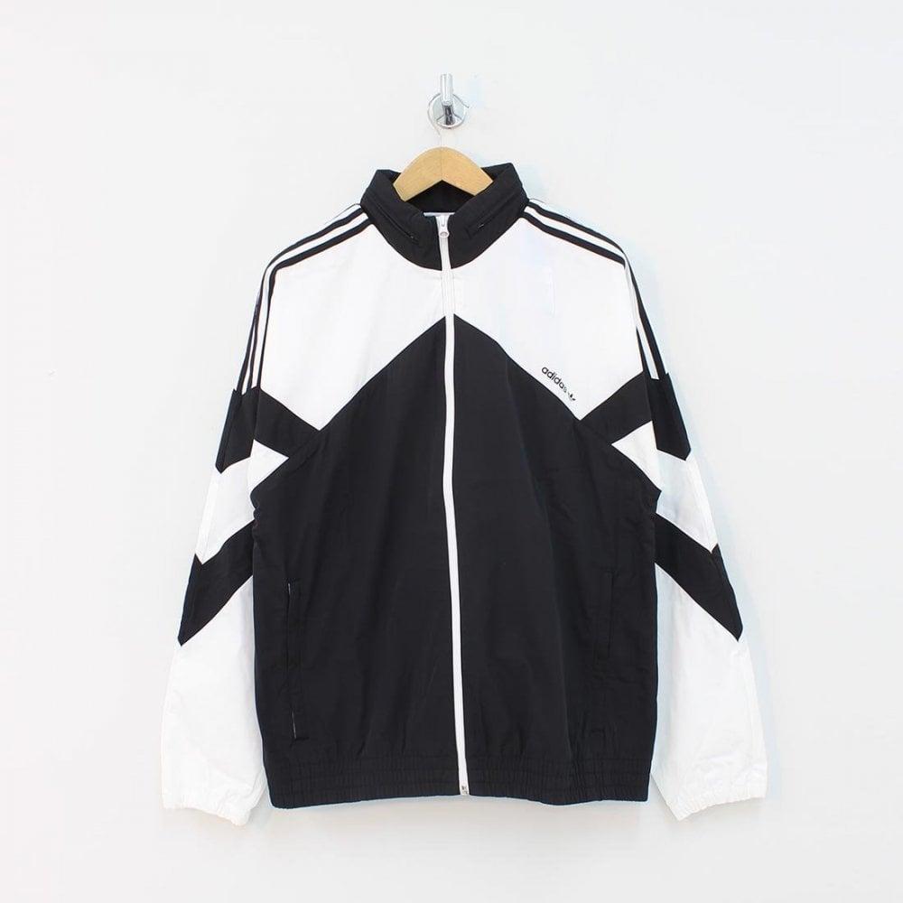 ADIDAS ORIGINALS CLOTHING Adidas Originals Palmeston Wind Breaker Black