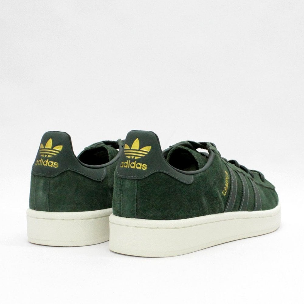 new style fed5d e6221 Adidas Originals Campus Green BZ0086