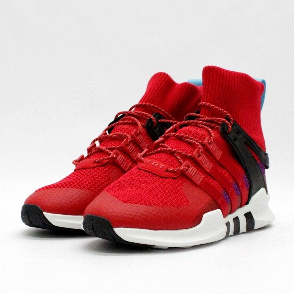 competitive price cf195 d7ecc ADIDAS ORIGINALS TRAINERS Adidas Originals EQT Support ADV Winter Red BZ0652