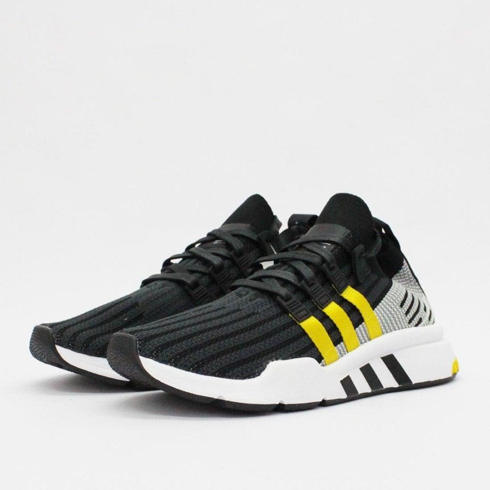 online store d91a1 09019 ADIDAS ORIGINALS TRAINERS Adidas Originals EQT Support Mid ADV Black CQ3011