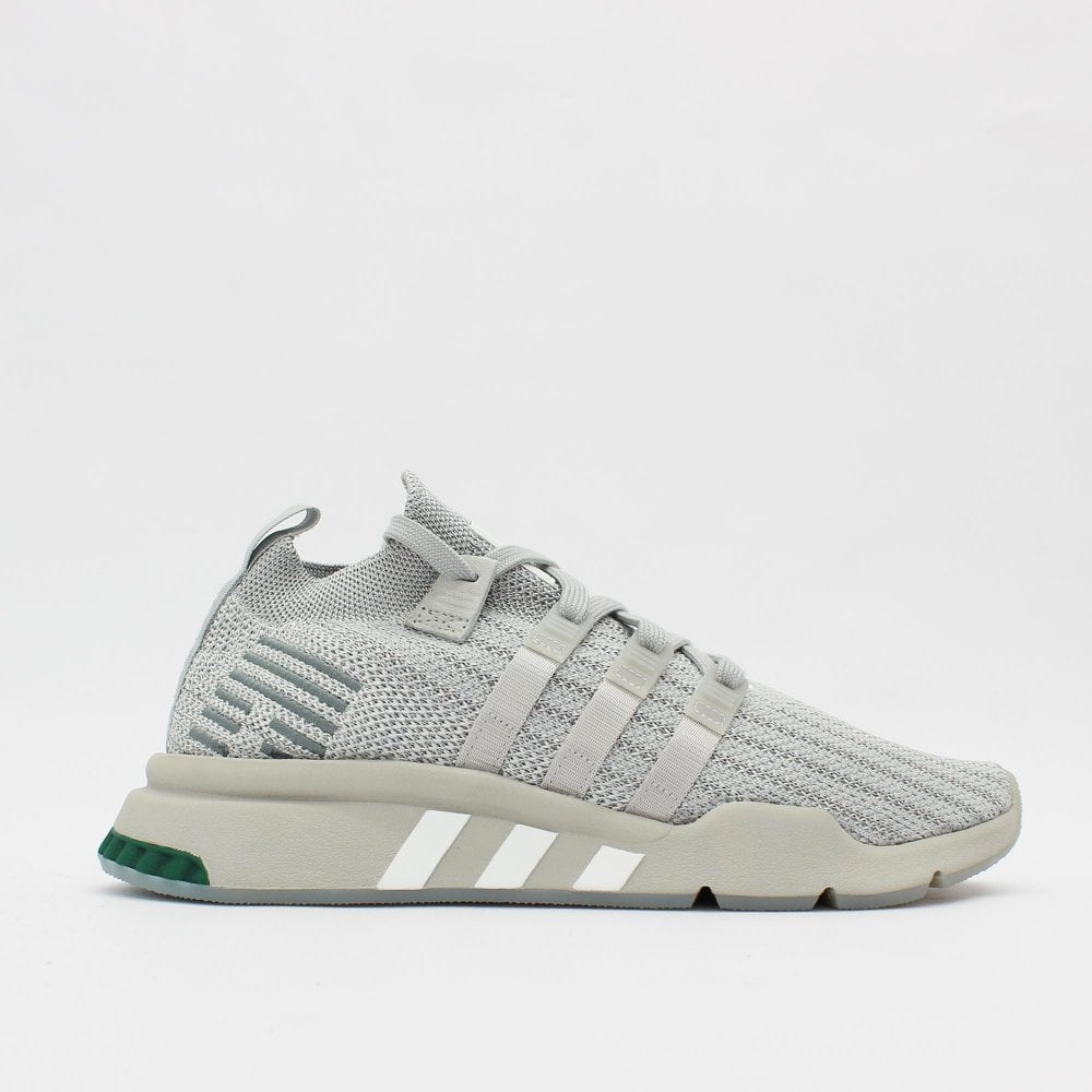 super cute c9e34 8a08f ADIDAS ORIGINALS TRAINERS EQT Support Mid ADV PK Grey Trainer