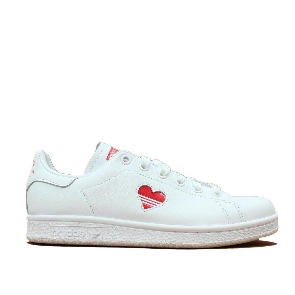 buy online ef0be 86425 ADIDAS ORIGINALS TRAINERS Stan Smith Heart White Trainer