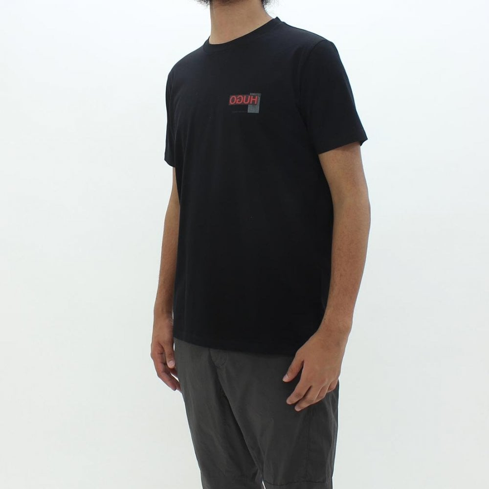 fce4bc6c1 HUGO BY HUGO BOSS Hugo By Hugo Boss Durned T-Shirt Black - T-Shirts ...