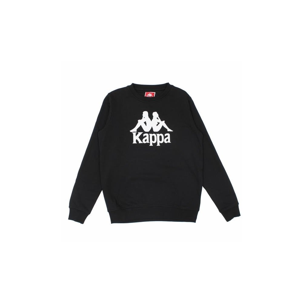 Kappa Mens Eslogari Slim Fit Sweatshirt Black
