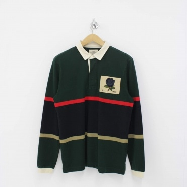 712bd75ca18 Veasley Rose Rugby Shirt Green Sale · KENT & CURWEN ...