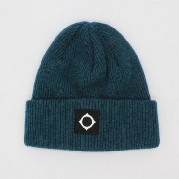 Ma.Strum Wool Hat Petrol Blue 6aceeb42af18