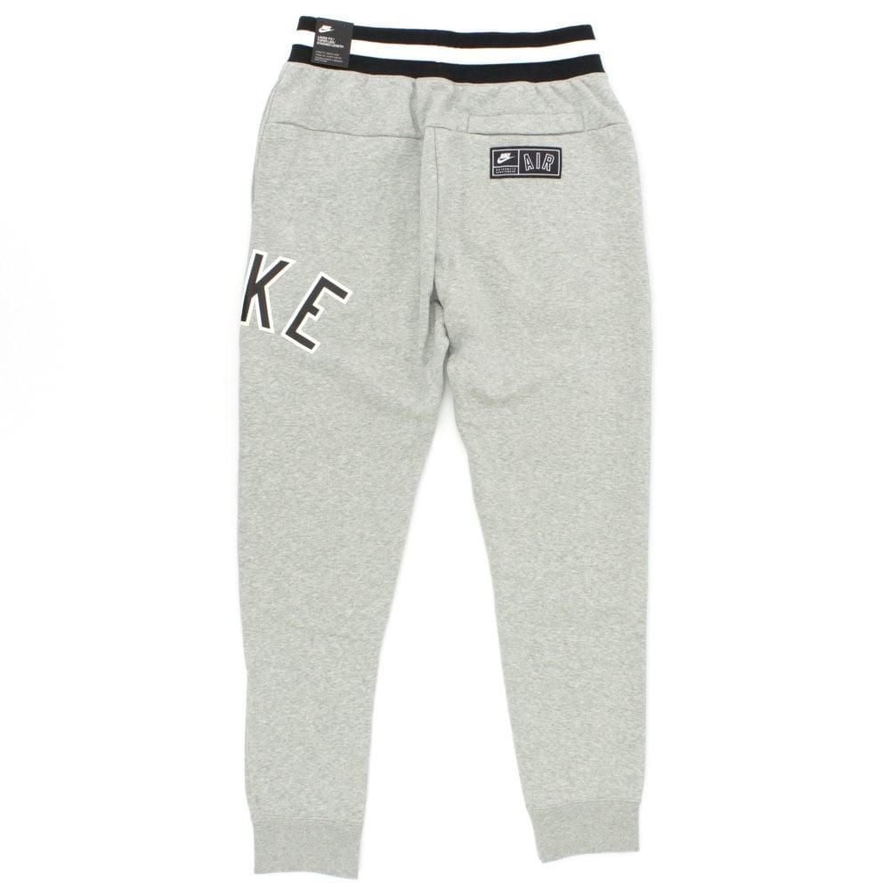 NIKE CLOTHING Air Stripe Waistband Grey Sweatpants