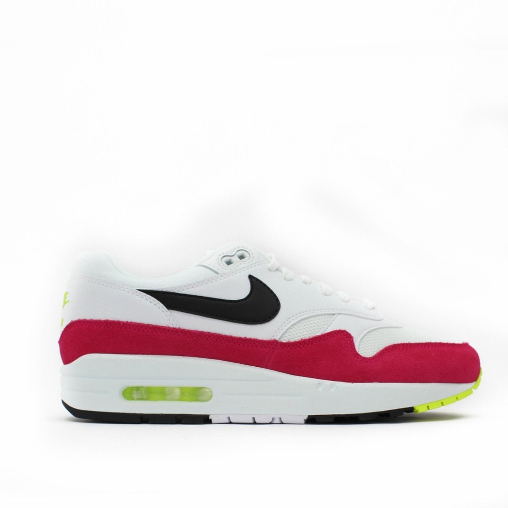NIKE TRAINERS Air Max 1 Pink White