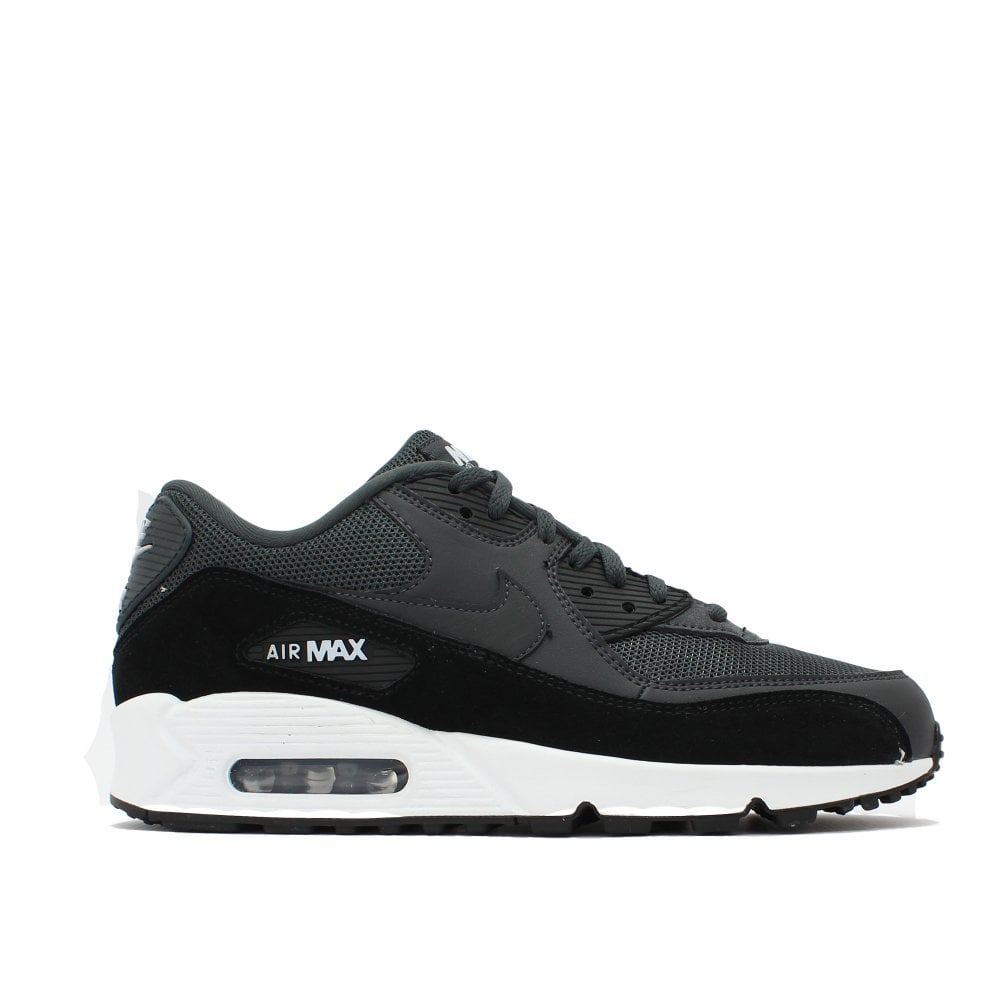 cute cheap cute get cheap NIKE TRAINERS Air Max 90 Grey Black Trainer - Mens from PILOT UK