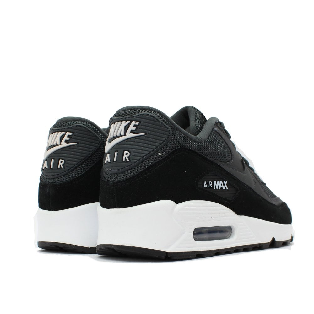 timeless design 8a71a 51363 NIKE TRAINERS Air Max 90 Grey Black Trainer