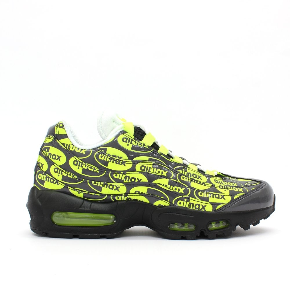 on sale 75bf4 b31ce NIKE TRAINERS Air Max 95 PRM Grey Trainer