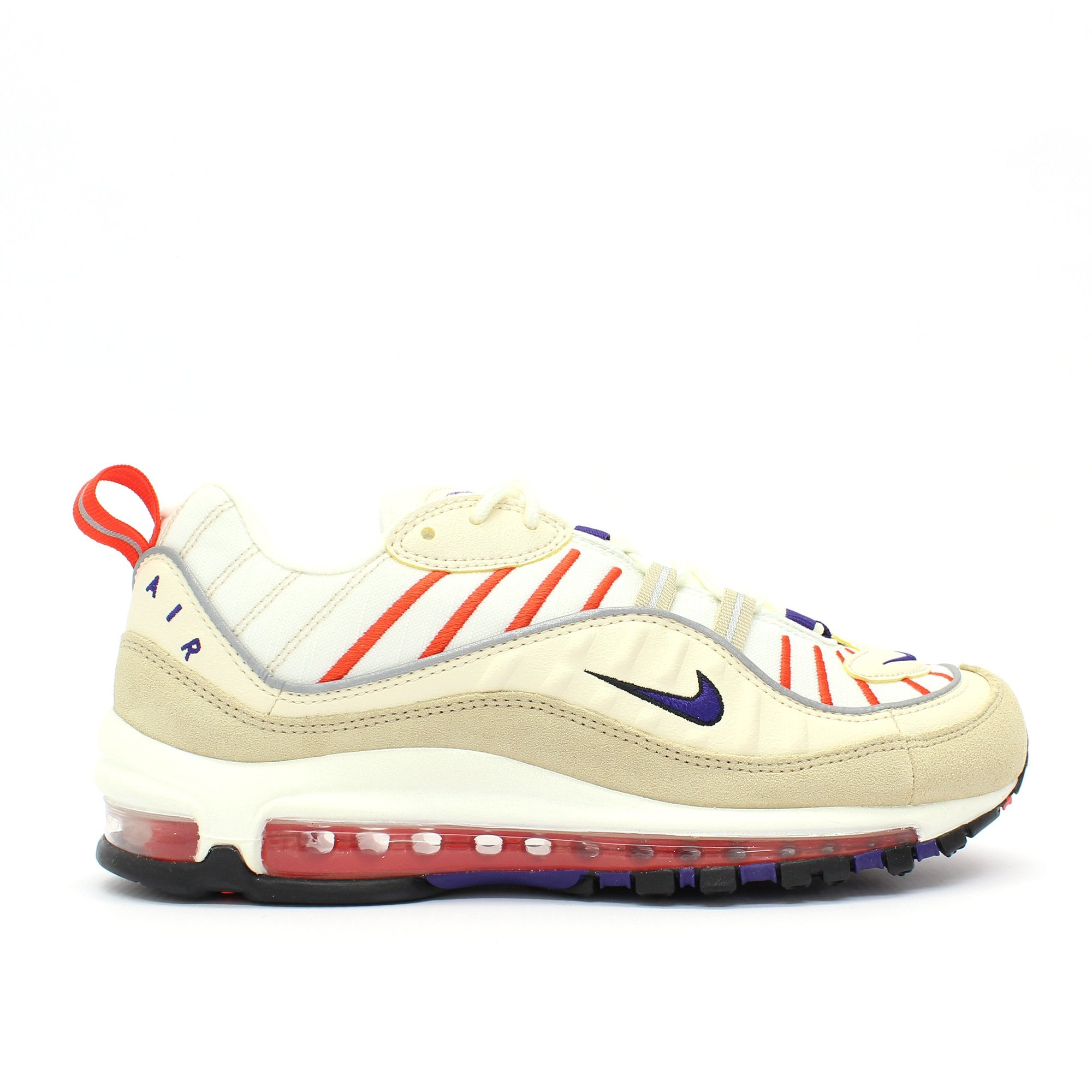NIKE TRAINERS Air Max 98 Off White
