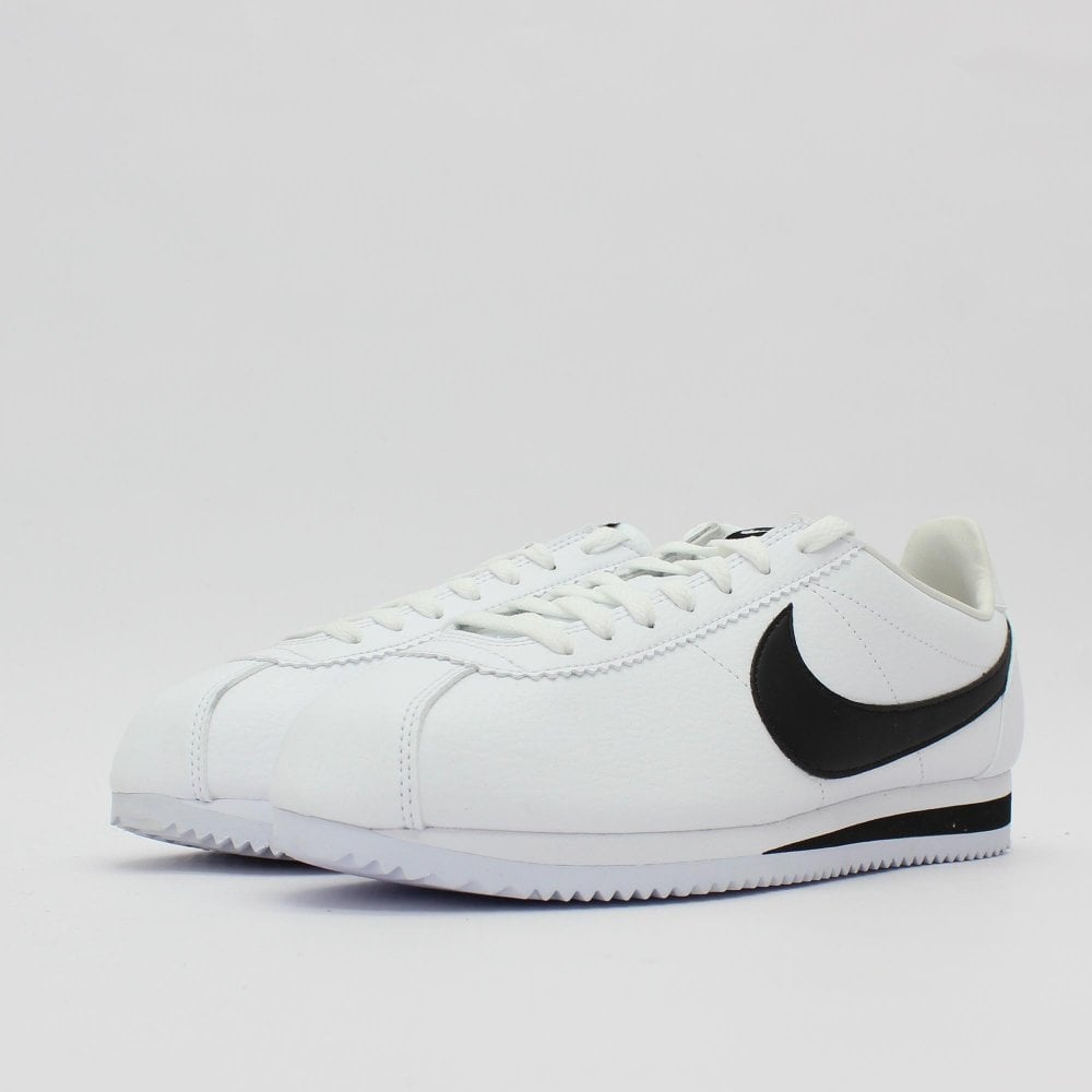 pretty nice 23889 0aa62 NIKE TRAINERS Classic Cortez Leather White Trainer