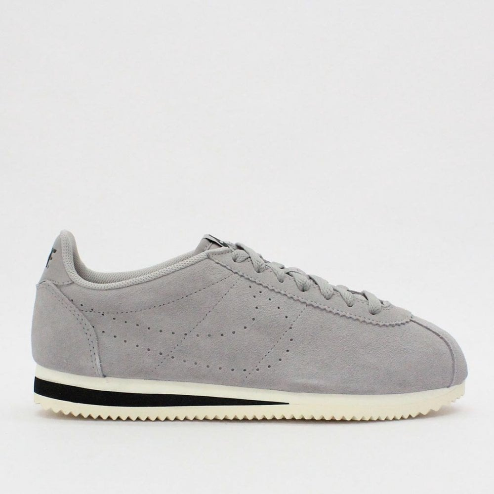 new product 37a63 0bae5 NIKE TRAINERS Nike Classic Cortez Suede Atmosphere Grey AA3108 013
