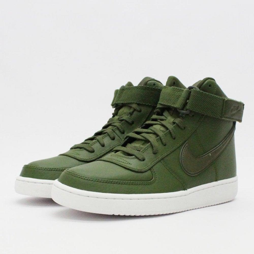 separation shoes 5dd44 e73a8 Nike Vandal High Supreme LTR Legion Green AH8518 312