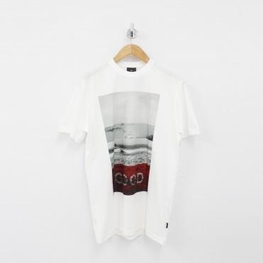 e071f4f7 Good Beach Print White T-Shirt · PAUL SMITH PS ...