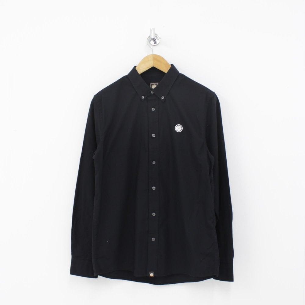 8202cf599b21 PRETTY GREEN Classic Black Oxford Shirt - Mens from PILOT UK