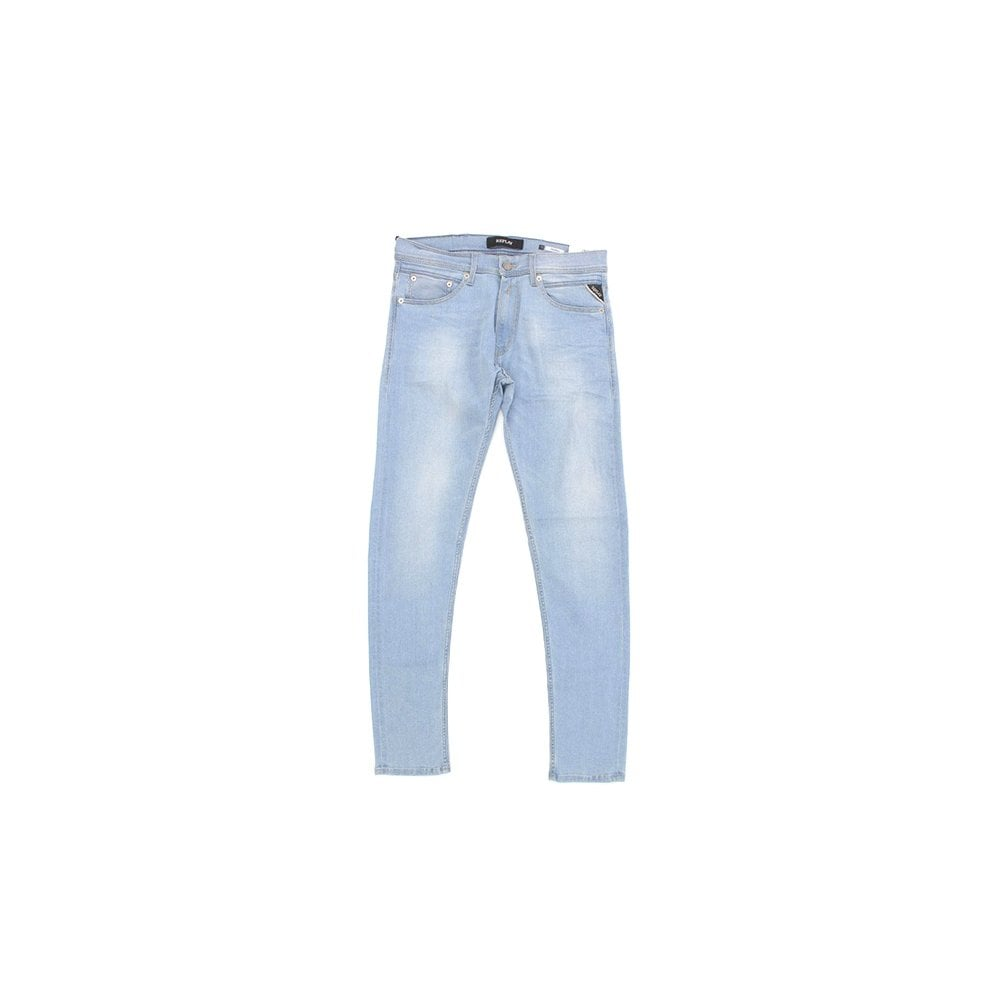 a0585a1e61d REPLAY Jondrill Light Power Stretch Skinny Jean - Mens from PILOT UK