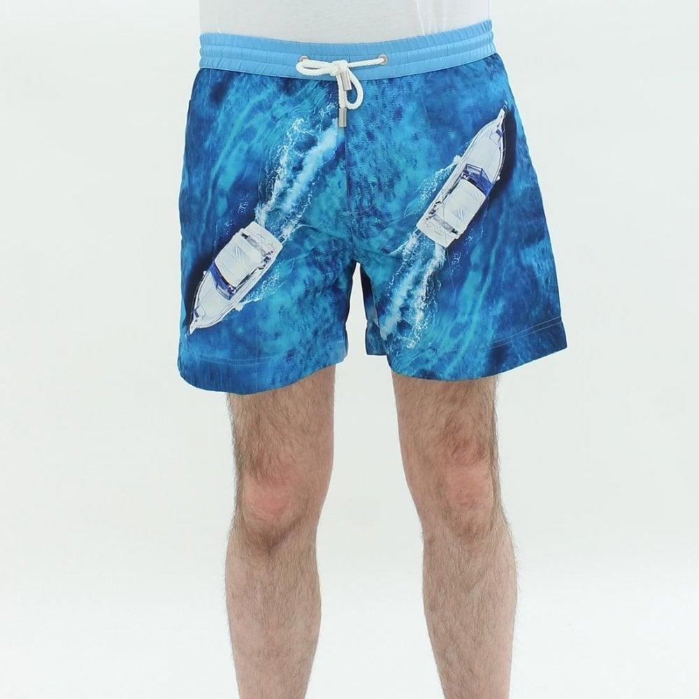 82f3a4fe32 THOMAS ROYALL Thomas Royall Luca Vancouver Shorts Blue - Mens from PILOT UK