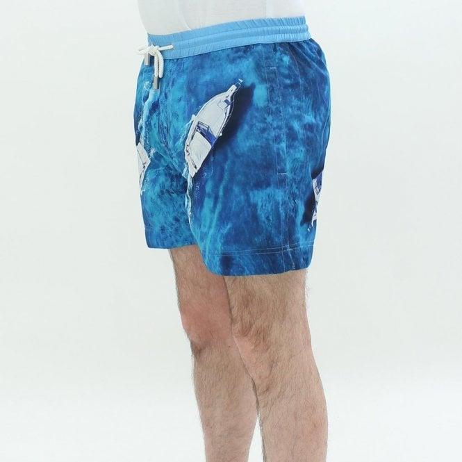 93864592cf THOMAS ROYALL Thomas Royall Luca Vancouver Shorts Blue - Mens from ...