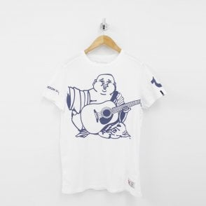 4c3a5d8c Oversized Buddha Logo T-Shirt white Sale · TRUE RELIGION ...