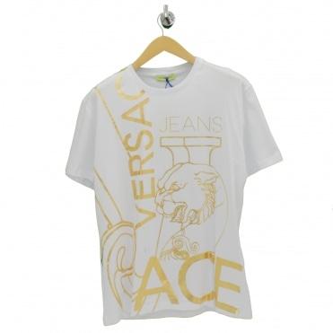 c59ce6c5 Large Foil VJ White T Shirt. VERSACE JEANS ...