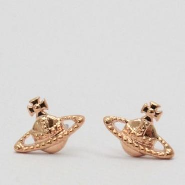 fe20b92f9 Vivienne Westwood Farah Earrings Pink Gold