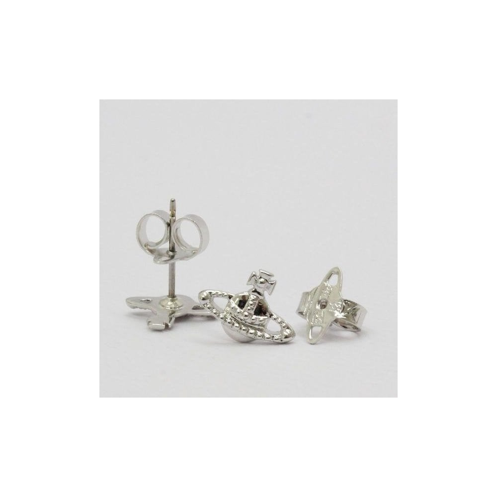 e1330a0a1980a VIVIENNE WESTWOOD Vivienne Westwood Farah Earrings Silver