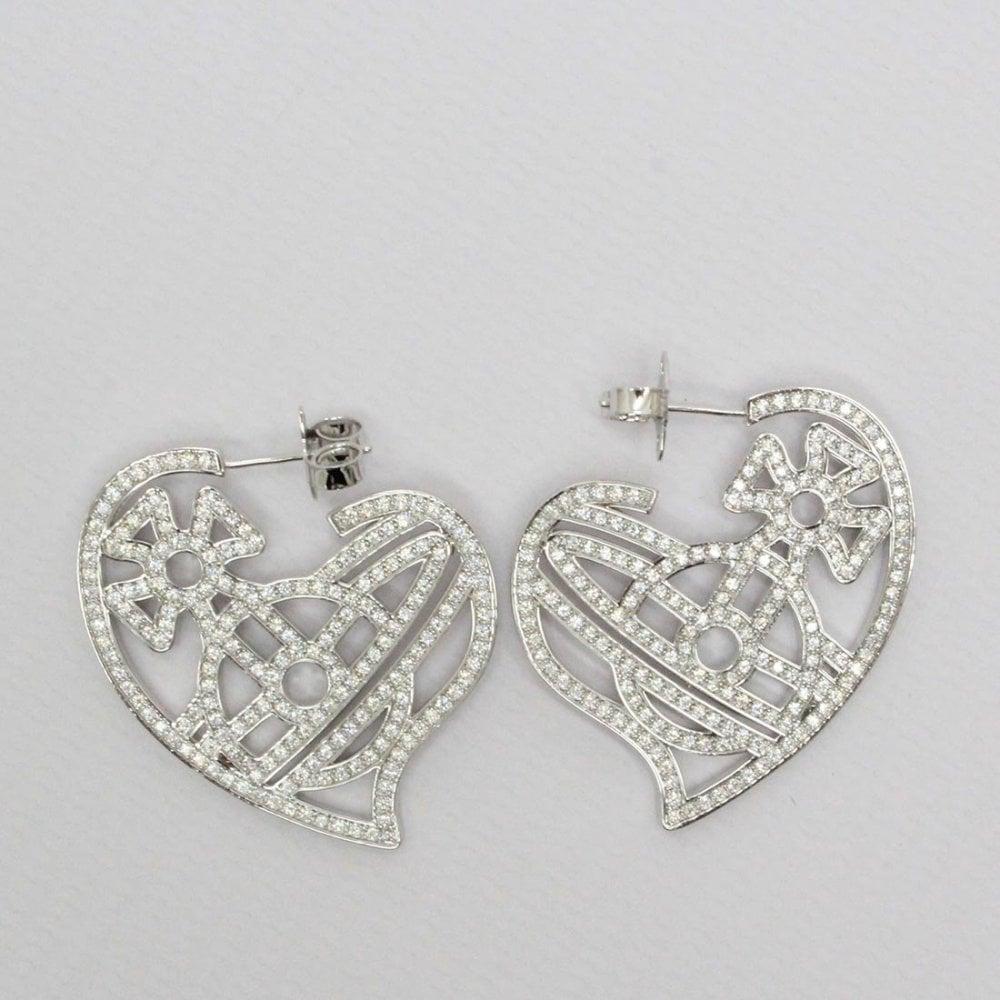 e092b17f2 VIVIENNE WESTWOOD Vivienne Westwood Giuseppa Earrings Silver ...