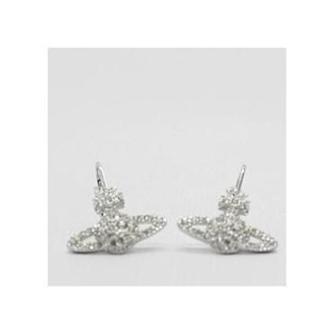 15d629a37 Vivienne Westwood Grace Hoop Earring Silver