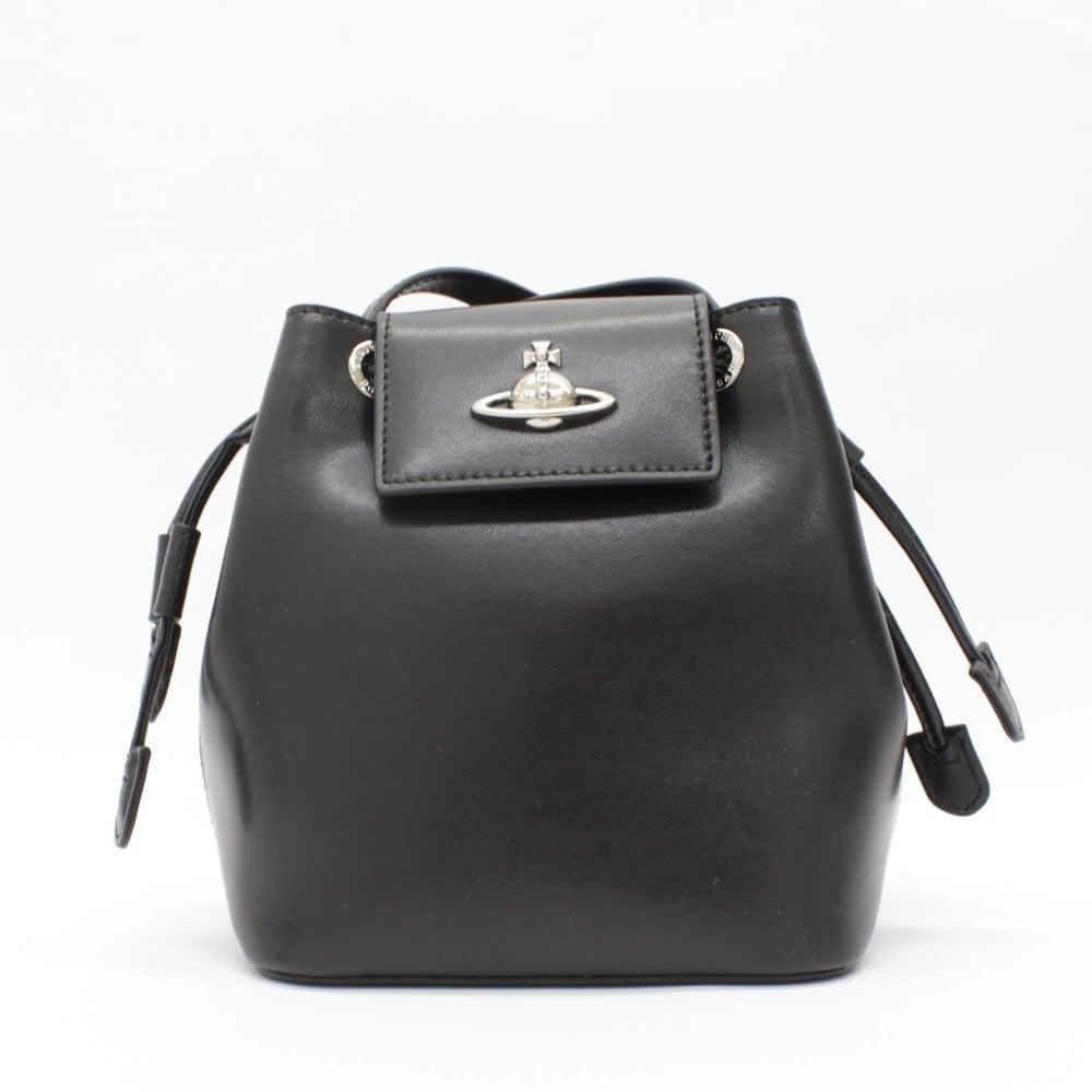 a8270bf7319e VIVIENNE WESTWOOD Matilda Black Bucket Bag - Womens from PILOT UK