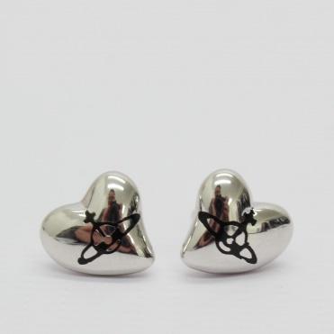 cce801c91 New Heart Silver Stud Earring Sale. VIVIENNE WESTWOOD ...