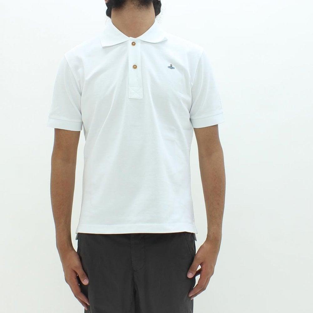 ae689432b VIVIENNE WESTWOOD Vivienne Westwood Pique Polo Shirt White - Polo ...