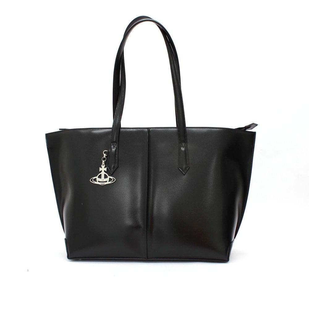 be546c0aefae VIVIENNE WESTWOOD Sarah Large Black Shopper Bag - Womens from PILOT UK