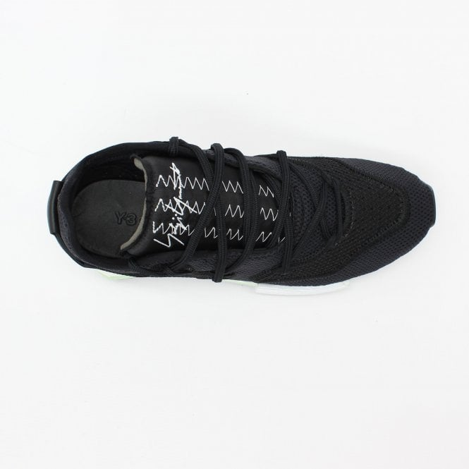 52e87c14e Y3 Harigane II Black Trainer - Mens from PILOT UK