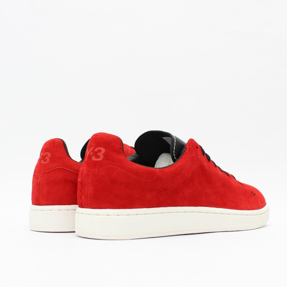 e54c3e373 Y3 Yohji Court Red Trainer - Mens from PILOT UK